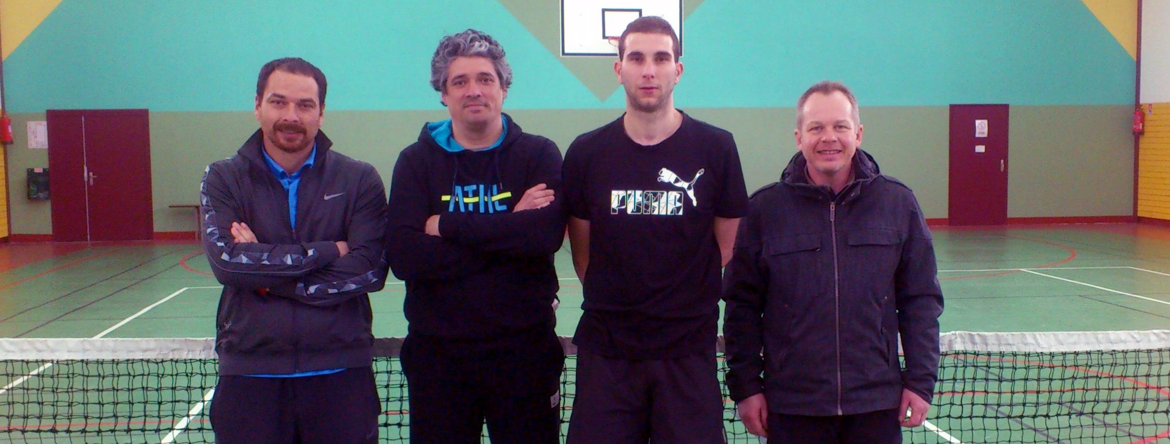 Equipe 2 des championnats de printemps 2015